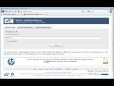 Видео курс HTML - Урок №31. Валидация документа. (желательно просмотреть весь)