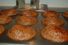 Choc PB Protein Muffins
