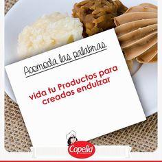 ¡Comenta el orden correcto de la frase y  #DiviérteteConCopelia ! www.alimentoscopelia.com