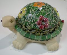 Hey, I found this really awesome Etsy listing at https://www.etsy.com/listing/191001714/stained-glass-mosaic-garden-turtle