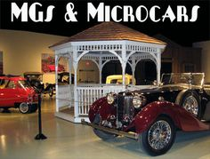 Exhibitions at Owls Head Transportation Museum...
