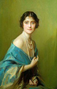 ^The Queen Mother, Philip Alexius de László - 1925