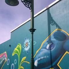Street art with whale #Warrnambool #Victoria #Australia #streetart #destinationwarrnambool #greatoceanroad #whale #live3280 by bobh1950