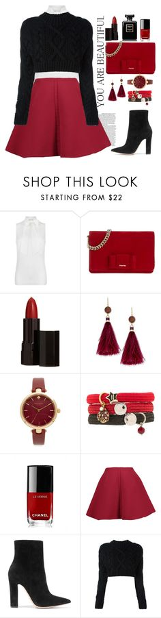 """""""Untitled #615"""" by jovana-p-com ❤ liked on Polyvore featuring MICHAEL Michael Kors, Miu Miu, Serge Lutens, Kate Spade, Marc Jacobs, Chanel, Delpozo, Gianvito Rossi and DKNY"""