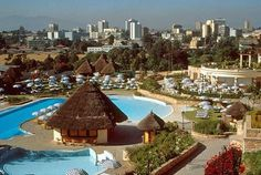 Addis Ababa, the capital city of Ethiopia, is one of the most beautiful cities in the world. Here are a few amazing photos that support this. Beautiful Landscape Pictures, Addis Abeba, Safest Places To Travel, African States, Most Beautiful Cities, City Buildings, Vacation Spots, Night Life, Travel Destinations