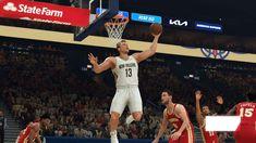 NBA, 2K22, 2K Sports, Basketball, NoobFeed Video Game Reviews, Latest Video Games, Basketball Court, Sports Basketball, State Farm, Playstation, Nba, American