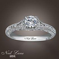 Neil Lane Bridal® 5/8 Carat t.w. Diamond Ring Sizes 6-8 $2499.99