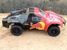 Red Bull Castle Creations Traxxas Slash 4x4