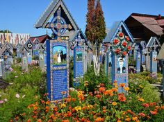 Merry Cemetery, Sapanta, Romania | 18 Hauntingly Beautiful Cemeteries To Visit After You Die