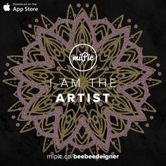 miPic is a social marketplace for artists & photographers to print, share & sell their pictures as beautiful art, fashion and lifestyle products Mandala, Bee, Gallery, Awesome, Artist, Check, Pictures, Beautiful, Products