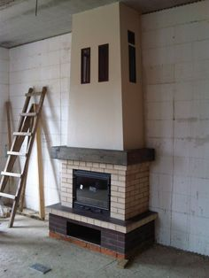 Build A Fireplace, Fireplace Design, Building, Modern, Home Decor, Sundial, Bar Grill, Fire Places, Wood Stoves