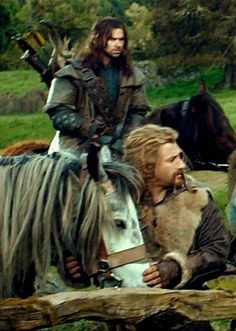 my favourite dwarves and their ponies. it doesn't get better than this.