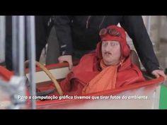 Bastidores do filme publicitário Corrida Maluca