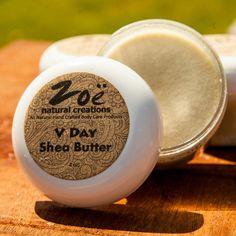 V Day Shea Body Butter | Zoe Natural Creations {www.zoenaturalcreations.com} #Natural #Organic #Skincare #Beauty #Shea #Lemongrass #Ingredients #AllNatural #Health #Skin