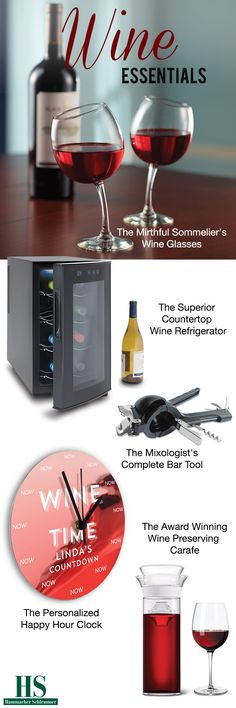 Gifts for the wine enthusiast.