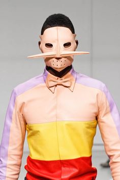 I'm gonna walk into a redneck trucker bar wearing this and order a Pink Lady. Walter Van Beirendonck