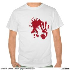 zombie attack t shirt