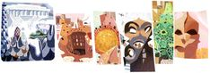 Google Doodle celebrating what would have been Antoni Gaudí's 161st birthday on 25 June 2013