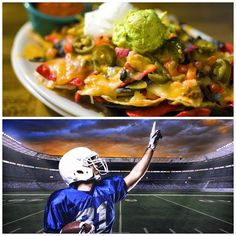 Game time! Come watch all the games at El Mariachi and ask for Mariachi Nachos, our special nachos, piled with strips of flame broiled steak, covered with melted cheese and garnished with onions, tomatoes, guacamole and sour cream. You won't regret trying them! Remember, we will be having half-price appetizers at the bar during the games.  Come, join us and check in at #ElMariachi!  #Go #Pats #Patriots #NFL #Football #ElMariachiMR