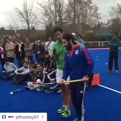 Can you do this one? #skills #hockey #repost @jamiedwyer01