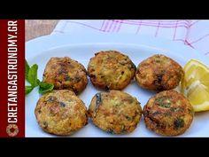 Κολοκυθοκεφτέδες (VIDEO) - cretangastronomy.gr Appetisers, Greek, Food And Drink, Vegetarian, Vegan, Cooking, Breakfast, Youtube, Recipes