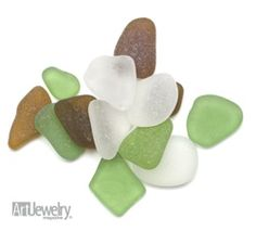 Sea Glass: How to Spot the Real Thing - Art Jewelry Magazine