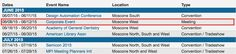 Moscone Center Schedule Points Towards June 8-12 for 2015 Worldwide Developers Conference - http://www.aivanet.com/2014/08/moscone-center-schedule-points-towards-june-8-12-for-2015-worldwide-developers-conference/