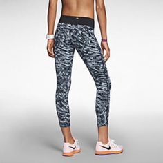 Nike Epic Lux Printed running Crop Brand new with tags women's Nike Epic Lux running crops  •Slash pocket within the waistband and zippered back pocket for secure small-item storage •Wide elastic waistband with internal drawcord for a personalized fit •Flat seams for a smooth feel against the skin   •Reflective elements for enhanced visibility in low light •Fabric: Body: Dri-FIT 77% nylon/23% spandex. Back panel: Dri-FIT 87% polyester/13% spandex. Gusset lining: Dri-FIT 100% polyester. All…