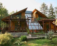 Зимний сад - райский уголок в доме (часть I).