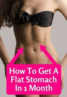 Get a Flat Tummy at Home with These 7 Simple Exercises –