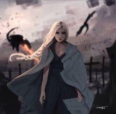 Daenerys Targaryen by James Jennings