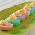 Easter deviled eggs dedewarner