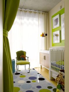 Chartreuse is a bright, eye-catching color that is halfway between green and yellow. I tend to like shades like this, those in between two primary colors, for their versatility. Chartreuse does not disappoint on visual impact, making great pairings with grays, purples, oranges and blues.