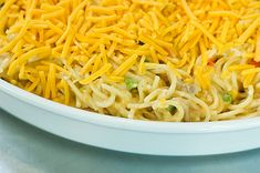 This really is a fabulous casserole, and the only one in existence that Marlboro Man, our cowboys, and my children will eat. It's officially called Chicken Spaghetti, but because of my addition of ...