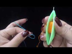 Frivolite Tatting lesson 163 - Add thread and hide tail / Añadir hilo y esconder cabo - YouTube