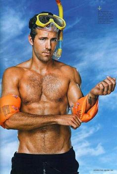 Ryan Reynolds-funny and hot!
