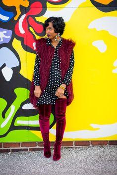 Sweenee Style, OTK boots, Indianapolis Style Blog, Indianapolis Fashion Blog,