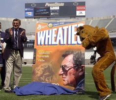 Joe Paterno FOREVER.  I have this unopened box in my cupboard and will save it forever.