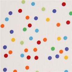 white dots fabric by Timeless Treasures USA