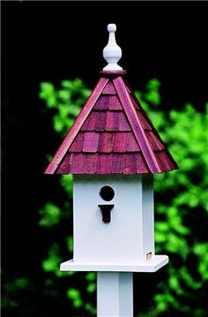 Pretty roof for this bird house!