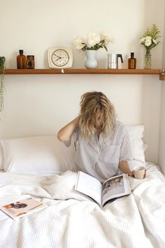 weekend in bed might be the ideal coffee corner for some. | @illy_coffee