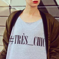 #sweatshirt #très_chic http://blog.3chic.com/2014/04/hashtag-tres-chic.html