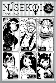 Weekly Shonen Jump 3rd Character Popularity Contest Results Naoshi Komi, 3 Characters, Nisekoi