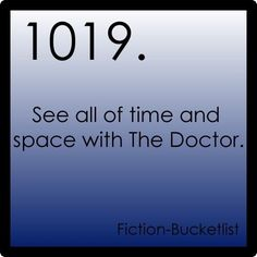 going to make a fiction bucket list!!!
