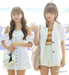 Airport Style, Airport Fashion, Young Designers, Best Friends Forever, 3 In One, Asian Fashion, Kpop Girls, Yuri, Girl Group