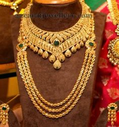 Jewellery Designs: Tremendous Uncut Sets by Manepally