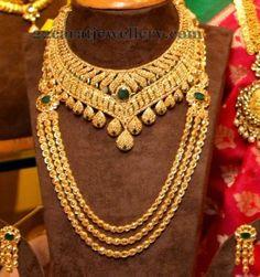Jewellery Designs: Tremendous Uncut Sets by Manepally