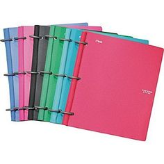 Five star flex binders are amazing they keep you so organized! And they don't take up that much space