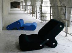 Sillón Multichair diseñado por Joe Colombo para BLine