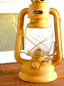 Sunny yellow lantern.